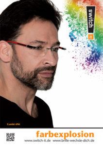 Brille Garbsen Farbexplosion für Herren