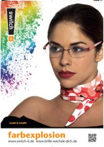 Brille Garbsen Farbexplosion für Damen