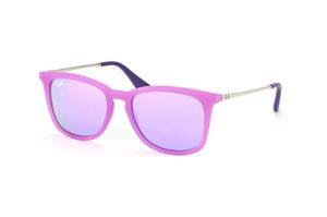 Verspiegelungen Brille