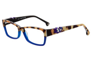 robuste, farbige Brille